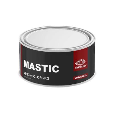 Mastic Premium Polyester universel 2 kg avec durcisseur VISIONCOLOR®
