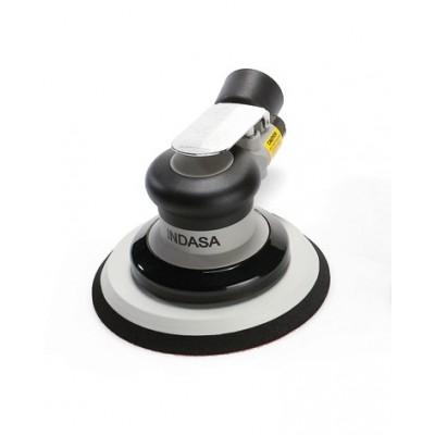 ponceuse INDASA pneumatique avec système centrale d'extraction 150mm ø5mm