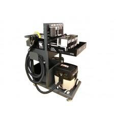 Station de ponçage electrique mobile avec aspirateur