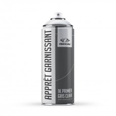 Aérosol apprêt garnissant 400 ml. Gris clair