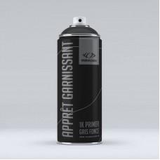 Apprêt ultra garnissant en spray 400 ml. Gris foncé