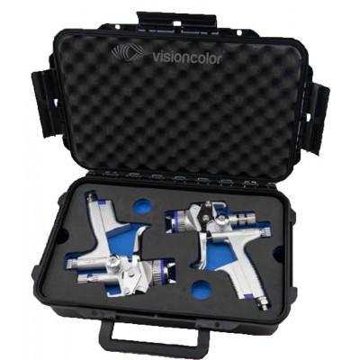 COFFRET 2 pistolets SATAJET 5000 B AVIATOR RP 1.3/HVLP WSB SATA