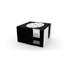 Disque abrasif de ponçage 150mm 15 trous Premium White
