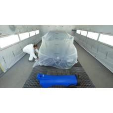 Rouleau de film HDPE transparent 10my 400x250 m