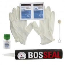 Kit colle pare brise Polyurethane pour vitres 60 minutes noir 300 ml