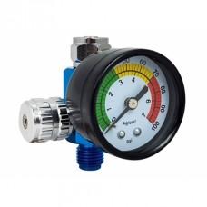 Régulateur de pression d'air  avec manomètre pour pistolets