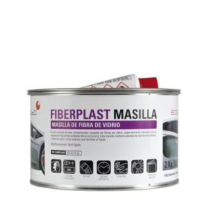 Mastic polyester (choucroute) fibres de verre 2kg