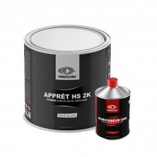 Pack Apprêt Garnissant acrylique 5:1 2K 2.5 L + 0.5 L Durcisseur