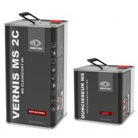 Pack Vernis MS 2C anti-rayures 7.5 Litres