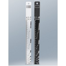 Règle de mélange en aluminium ratios 4:1 / 5:1