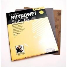 Feuille abrasif à l'eau RHYNOWET PLUS LINE 230 X 280 MM (100un)