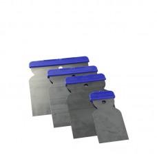 Jeu de spatules en acier inoxydable (50, 80, 100 et 120 mm)