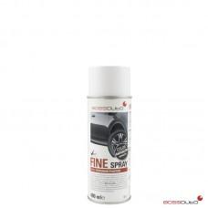 FINE Spray, texturé pour plastiques Anthracite, 400 ml.