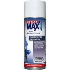 SprayMax Peugeot Blanc EWP 400 ml.