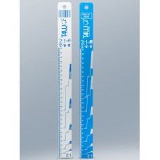 Règle de mélange en aluminium ratios 2:1 / 3:1