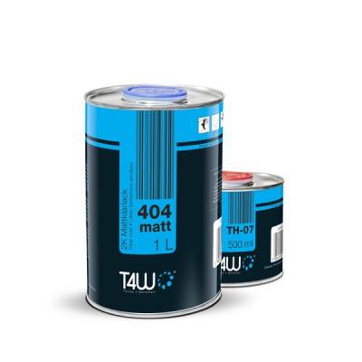 Vernis Acrylique T4W Clear Coat 2:1 MAT 1 litre + 0.5  durcisseur