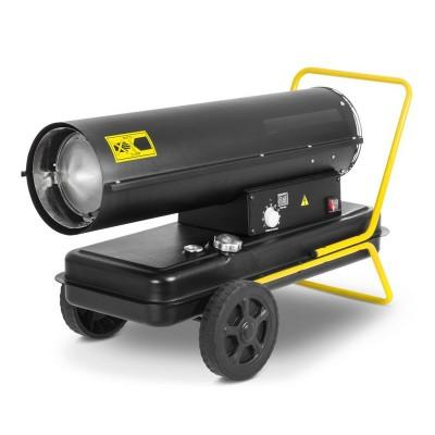 Canon à chaleur au fioul à combustion directe