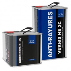 Pack Vernis acrylique HS  anti-rayures 7.5 Litres