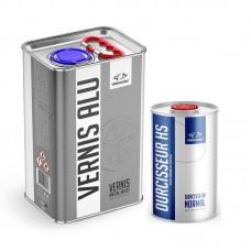 Pack vernis spécial aluminium jantes 5 Litres