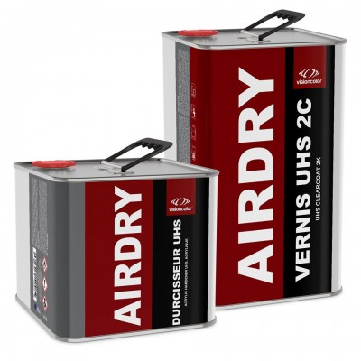 Pack Vernis acrylique UHS 2C Air-Dry 7.5 Litres