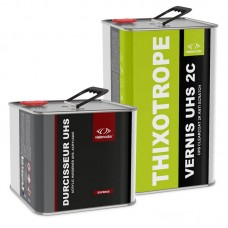 Pack Vernis acrylique UHS 2C Anti-coulures 7.5 Litres