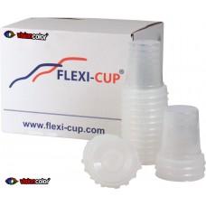 Godet jetables Flexi-cup standard 600ml avec filtre 125µm (45un)