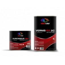 Pack Vernis Séchage rapide à l'air HSA 2C 7.5 Litres