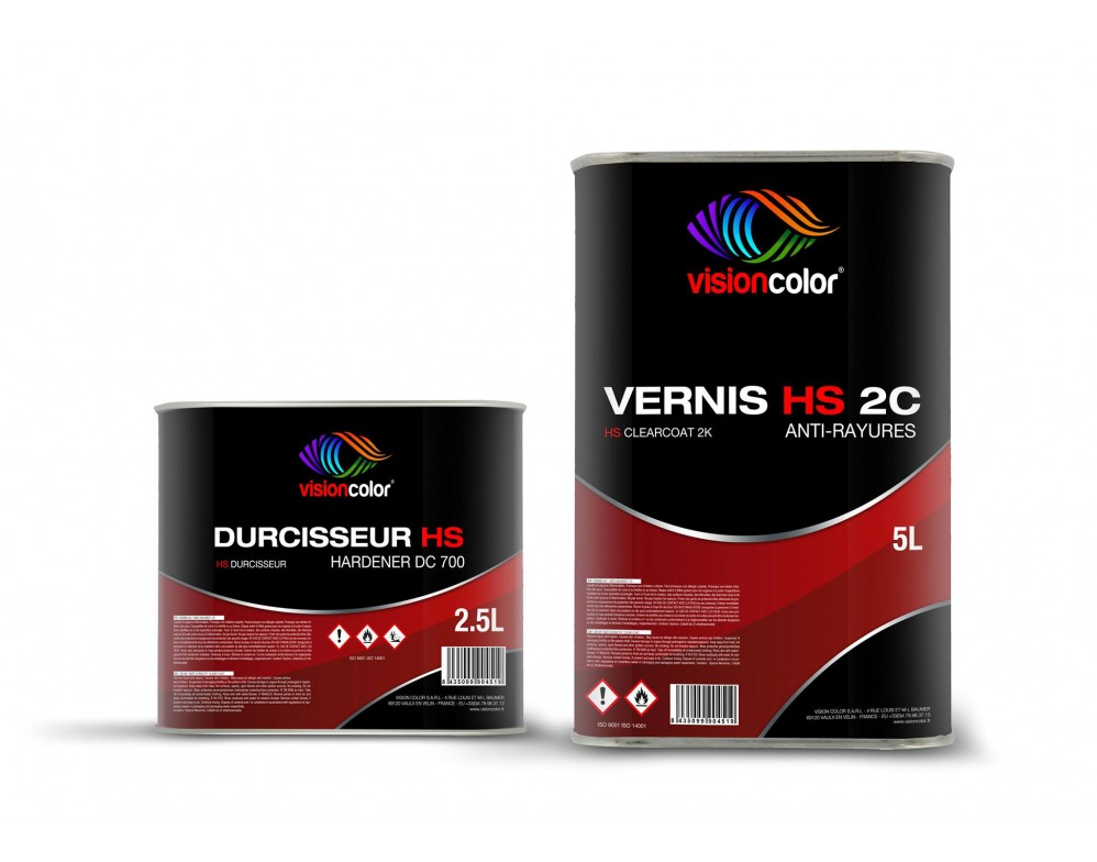 pack vernis anti rayure acrylique hs 2c 7 5 litres. Black Bedroom Furniture Sets. Home Design Ideas